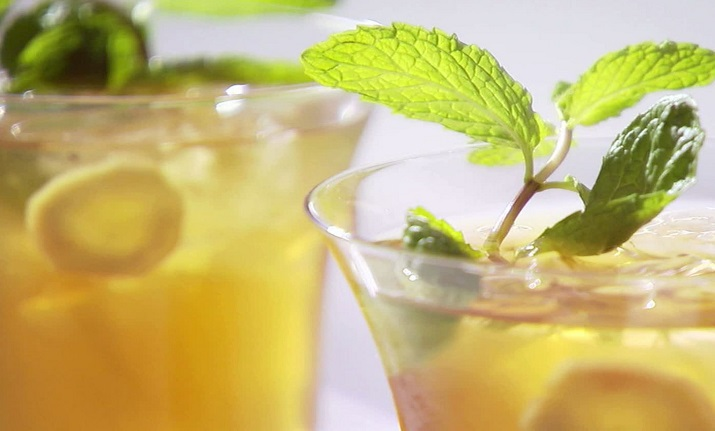 Tulsi Ginger Iced Green Tea